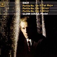 GLENN GOULD - BACH: PARTITAS,BWV 825-827,VOLUME 1  CD 37 TRACKS PIANO NEW