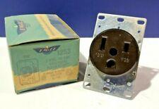 Eagle 50 Amp 125V Grounding Flush Mounting Receptacle 2P 3W NEW NEMA 5-50R 1253