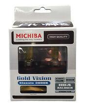 Michiba hb4 12 V 55 W 3000k GOLD VISION BULBS (yellow)