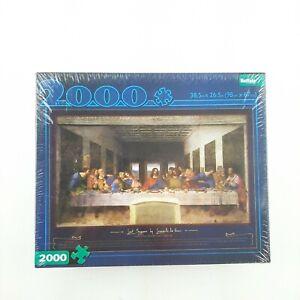 Buffalo Games The Last Supper by Leonardo da Vinci 2000 Piece Puzzle Sealed New