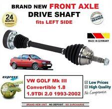 Para VW Golf III Descapotable 1.8 1.9tdi 2.0 1993-2002 Eje Delantero Izqdo.