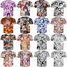 Women/Men Ahegao Anime Funny Girl Sexy 3D Print Casual T-Shirt Tee Short Sleeve