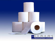 144 Rollen Toilettenpapier Klopapier 3 lagig 250 Blatt weiß Zellstoff