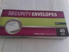 Security Envelopes No. 10 (40)