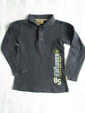 Jungen Gr 116 Langarm Top Pullover marineblau Roadsign Australia PoloShirt gelb