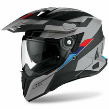 Casco integrale adventure moto Airoh Commander Skill matt BMW