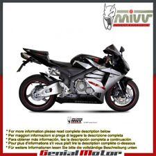 Scarico MIVV Suono Acciaio inox Sotto sella per Honda Cbr 600 Rr 2005 > 2006