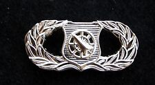 US AIR FORCE WEAPONS CONTROLLER BADGE USAF HAT PIN UP MILLITARY AFB GIFT WOW