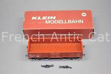 U356 KLEIN modellbahn Ho SNCF offener güterwagen typ E wagon tombereau 3104