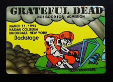 Grateful Dead Backstage Pass Puzzle Piece Tattoo Speedboat New York 3/11/1992 NY