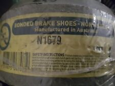 BRAKE SHOES N1679 - HYUNDAI EXCEL X1 1989-91, S COUPE ('S' COUPE) 1991 1992 REAR