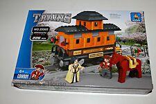 Ausini TRAINS Set#25505 Building Block Toy 226pcs city,horse,car(lego compatible