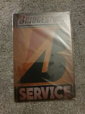 BRIDGESTONE SERVICE retro Metal Plaque
