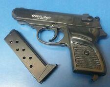 Walther PPK Replica Black Gun Pistol Movie Prop Training EKOL Major 9mm PAK