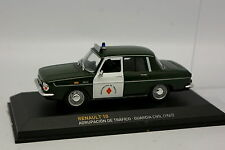 Ixo Carrera 1/43 - Renault 10 Guardia Civil Española