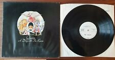 Queen - A Day At The Races RARE Orig. GER Weiss-Promo LP EMI Freddie Mercury