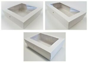 Deep Gift Box/Greeting Card - 50mm Deep - Aperture Lid - 10 Sizes To Choose From