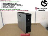 HP Z600 Workstation, 2x Xeon X5675 3.06GHz, 48GB DDR3, 500GB HDD, Quadro NVS 300