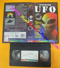 VHS film DOSSIER UFO Top secret 1995 CINEHOLLYWOOD CHV 8256 55 mins (F72) no dvd