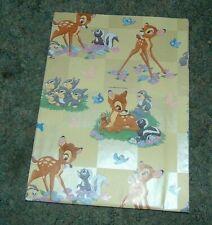 Walt Disney Company Gift Wrap One Sheet Bambi Thumper  Flower