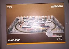 Marklin Mini-Club 8150 Starter Set Musem Tender Steam Locomotive B89 plus cars