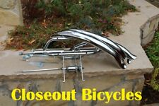 "26"" TRICYCLE CONVERSION KIT / FENDER KIT CHROME HOLLOW HUB 5/8"" AXLE LOWRIDER"