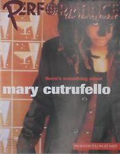 MARY CUTRUFELLO 1998 PERFORMANCE Magazine  New