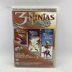3 Ninjas Trilogy: Kick Back Knuckle Up High Noon At Mega Mountain DVD