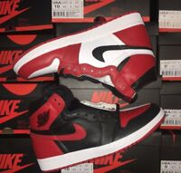 2018 Air Jordan 1 Retro High Homage To Home Non Numbered 861428-061 Size 7-12