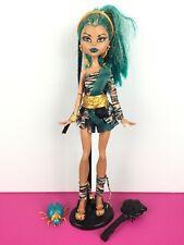 Monster High Doll Nefera de Nile First 1st Wave Azura Pet / Poupée