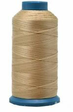 Tan Nylon Thread for Sewing Leather Upholstery Denim Jeans 1500 Yards