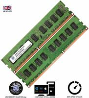 Memory Ram 4 Desktop PC DDR3 PC3 10600 1333 MHz 240 UDIMM ECC Unbuffered 2x Lot