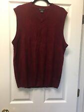 Weatherproof Mens Sweater Vest Knit XL,EUC 100% Acrylic