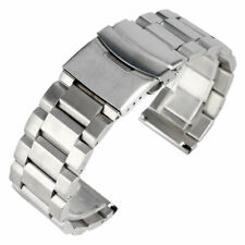 Stainless Steel Replacement Watch Band Strap 18/20/22/24mm
