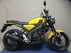 NEW 2021 Yamaha XSR125 YELLOW ONLY 1 IN STOCK NOW!!