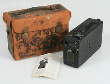 CINE KODAK MODEL B 16MM FILM MOVIE CAMERA FOR USE IN THE TROPICS W/ORIGINAL CASE