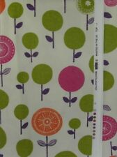 SCION Lollipop Flower cotton curtain fabric remnant  140cm x 230cm