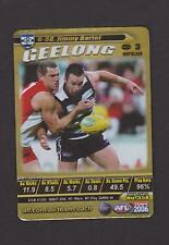 2006 TEAMCOACH GOLD  JIMMY BARTEL GEELONG  CARD No G- 58