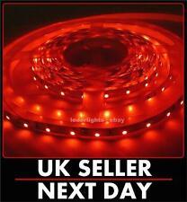 24v LED SMD STRIP LIGHT 2M 120 LEDS RED STRIPS MOTORHOMES CARAVAN BOAT LIGHTS