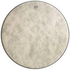 Remo Bass Drum Heads :  Fiberskyn, Fa Film, 18 Diameter