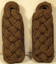 East German Germany Subdued Field Officer Shoulder Boards NVA DDR GDR Rare