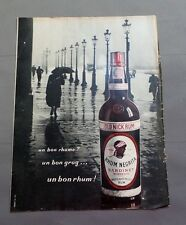 PUB PUBLICITE ANCIENNE ADVERT CLIPPING 130717/ RHUM NEGRITA BARDINET WEST & EAST