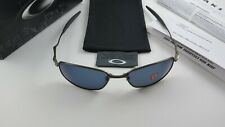 Oakley Whisker Pewter Ice Iridium Polarized+Box 26-264 Wire NEW RARE