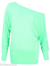 Markenlose Damenblusen, - tops & -shirts mit Fledermausärmeln L