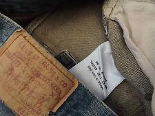 """LEVIS 501 Coupe Droite Jeans W30"""" L33"""" (ORIGINAL) 644 N"""
