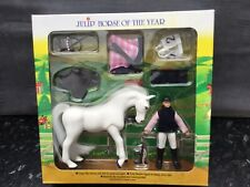 Julip Vintage Collectable Horse Model Toy Isabella And Icicle