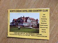 q1-r ephemera 1987 advert skegness hotel north shore carcary