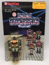 Vintage Mini Godaikin Leopardon Die Cast Robot Toy MOC Bandai 1984 Chogokin
