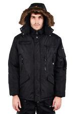 Abrigos y chaquetas de hombre parka impermeable