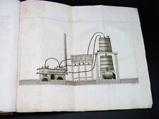 CHAPTAL Art de faire le VIN OENOLOGIE VITICULTURE GASTRONOMIE 2 PLANCHES 1839